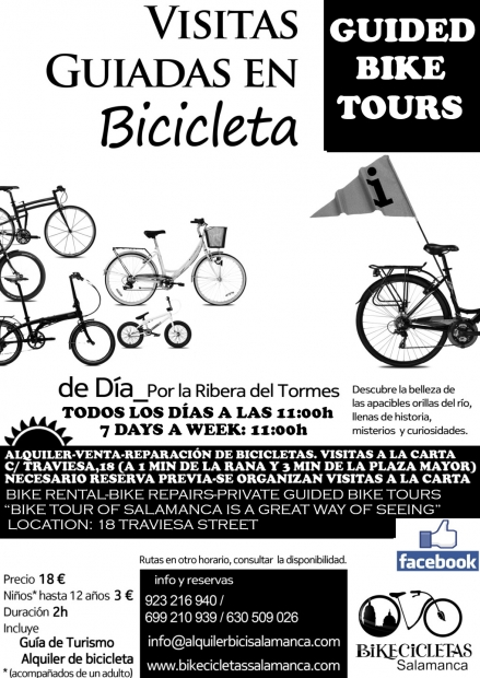 SALAMANCA BIKE TOUR